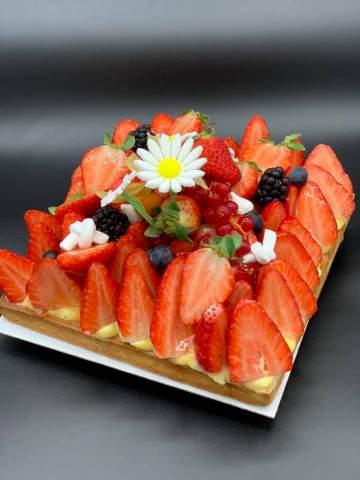 Tarte à la fraise